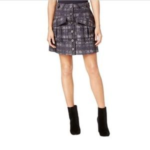 Rachel Roy Textured Aline Skirt with Pockets